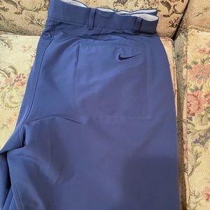 Men's Nike Blue Gold shorts size 38